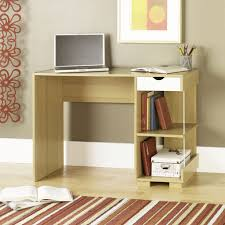 office desk small. Combine Bookshelves And Small Wooden Office Desk On Laminate Oak Floorng In Open Home