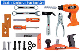 black and decker hand tools. black-and-decker-jr-fun-tool-set black and decker hand tools