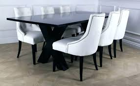 white leather dining chairs white leather dining chairs intended for white leather dining room chairs decorating