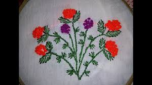 French Knot Stitch Designs Hand Embroidery French Knot Stitch Design By Nakshi Katha