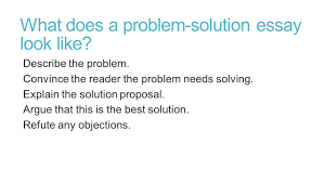 challenges faced by cities problem solution research essay ppt  what does a problem solution essay look like describe the problem