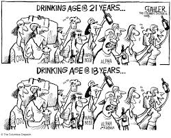legal drinking age an error occurred