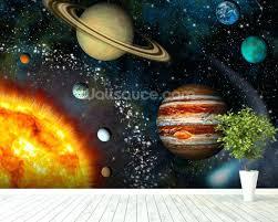 solar system wall art solar system mural wallpaper room setting solar system 3d wall art on solar system 3d wall art with solar system wall art solar system mural wallpaper room setting