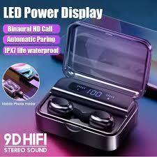 Original <b>S590</b>-TWS <b>Bluetooth</b> 5.0 Rich Bass Earbuds <b>LED</b> Digital ...