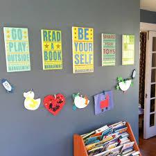 wall art ideas for playroom