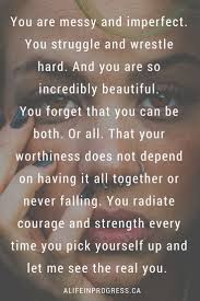 Youre Imperfect Beautiful Best Quotes Life Bestquotes