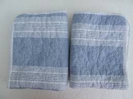 tahari pair quilted blue white