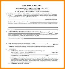 Free Printable Real Estate Sales Contract   Nfcnbarroom.com