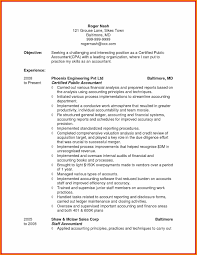 Sample Resume For Tax Accountant Reference Brilliant Ideas