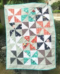 Pinwheel Baby Quilt - Sew Delicious & tsuru pinwheel quilt Adamdwight.com