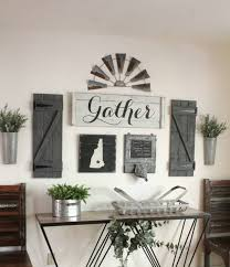farmhouse living room decor wall