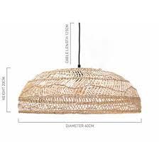 rattan pendant lighting. PENDANT   Medium Handwoven Wicker By Hk Living Rattan Pendant Lighting L