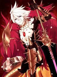 Red Lancer, Mobile Wallpaper - Zerochan ...