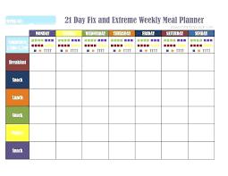 Meal Plan Journal Template Meal Planning Calendar Template Pregnancy