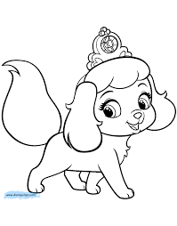 Small Picture Pet Coloring Pages Palace Pets Coloring Pages Disney Coloring Book
