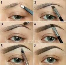 3 gunakan 3 menit waktumu untuk membingkai wajah dengan alis yang sempurna