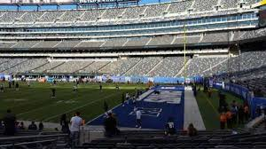 Metlife Stadium Football Seating Chart Metlife Stadium Section 133 Home Of New York Jets New