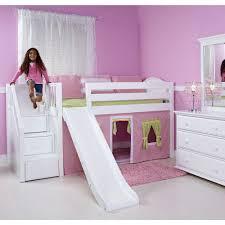 Magnificent Slide Pecan Bunk Beds ...