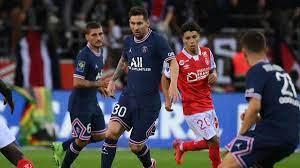 PSG gewinnt bei Messi-Debüt dank eines Doppelpacks von Mbappé bei Stade  Reims - Eurosport