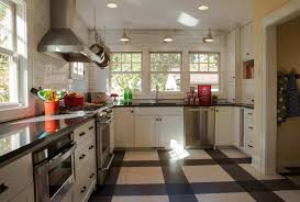 Vct Kitchen Floor Top Modern Kitchen Flooring Materials Small Design Ideas