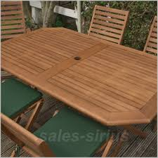 wooden garden table set 6 seater outdoor dining furniture chairs cushions patio