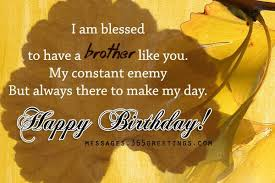 Happy Birthday Quotes For Brother From Sister | Cute Love Quotes via Relatably.com