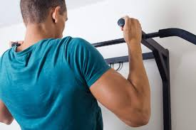 if you have an exposed support beam in your house or garage here s another option for a simple homemade pull up bar that does not require mounting a bar to