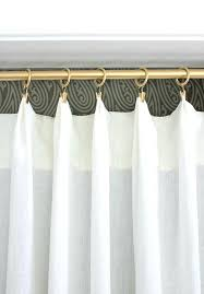 inspirational open top shower curtain rings new
