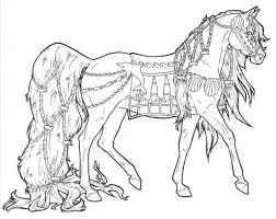 Free Printable Horse Coloring Pages For Adults The Color Panda