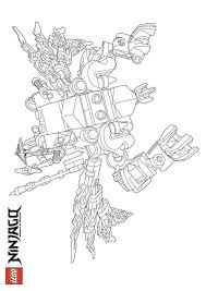 Nindroid Coloring Pages