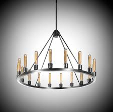 the spark 36 modern chandelier can be customized by the metal finish and type of bulb selected