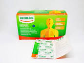 Hasil gambar untuk Decolsin Obat Batuk Dan Flu Kapsul