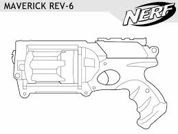 Image Result For Nerf Gun Outlines Nerf Pistole Giocattolo Nerf