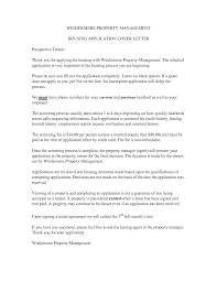 Sample Property Management Cover Letter Best Istant Property