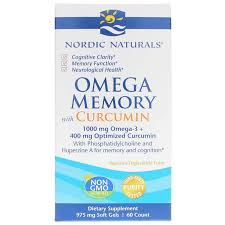 <b>Omega Memory with Curcumin</b>, Nordic Naturals