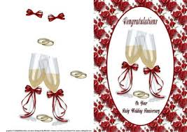 congratulations ruby wedding anniversary card front cup67506_376 Congratulations Your Wedding Anniversary congratulations ruby wedding anniversary card front cup67506_376 craftsuprint congratulations your wedding anniversary quotes