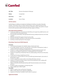 Ideas Of Cover Letter For Business Development Jobs Creative Resume