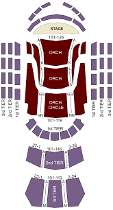 Knight Concert Hall Miami Fl Seating Chart Stage