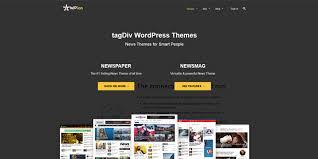 Website Template Newspaper News Wordpress Themes For Business Magazin Blog 2018