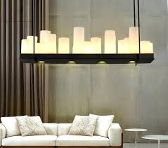 rectangle candle chandelier rectangular wrought iron chandelier candle light pendant light ceiling lamp black lamp holders