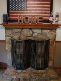 DIY fireplace screen we made! Love it!! | For the Home | Pinterest ...