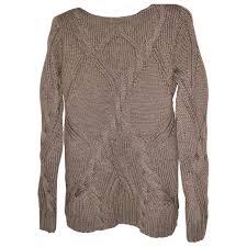 Elie Tahari Shoe Size Chart Wool Jumper Elie Tahari Khaki Size 8 Us In Wool 5971462