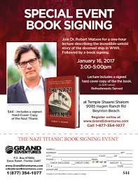 book signing flyer dr watson book signing
