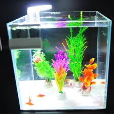 5W 8LED Bể Cá cho Cá Chống Nước Kẹp ĐÈN LED Bể Cá Bể Cá Thủy Sinh Thực Vật  Phát Triển đèn US/EU/Ổ Cắm USB|Chiếu Sáng