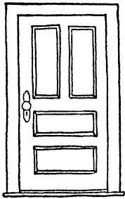 closed door drawing. Interesting Door Door Drawing Throughout Closed O