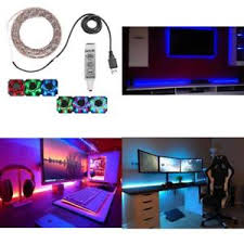 Diy led strip lighting Mounting Details About Gaming Room Cool Diy 2m 65ft Resin Flexible Color Changing Usb Led Strip Lights Ebay Gaming Room Cool Diy 2m 65ft Resin Flexible Color Changing Usb Led