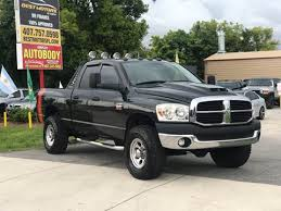 dodge trucks for sale.  For 2007 Dodge Ram Pickup 2500 For Sale In Orlando FL And Trucks For Sale