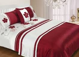 red and white bedding duvet cover sets sweetgalas