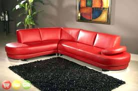 red leather sectional couch decor red leather sectional sofa with contemporary so ottoman red faux leather