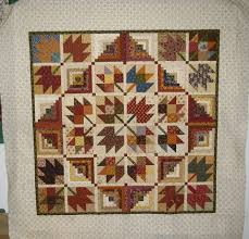 22 best Maple leaf quilt ideas images on Pinterest | Autumn quilts ... & Maple Leaf Quilt Top-cool setting Adamdwight.com